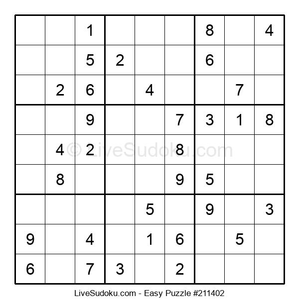 Beginners Puzzle #211402