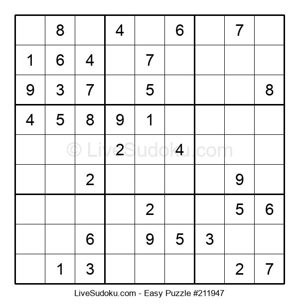 Beginners Puzzle #211947