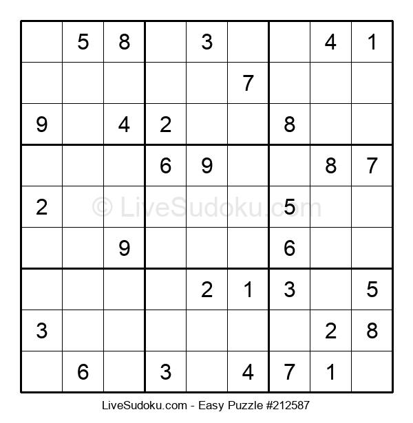 Beginners Puzzle #212587