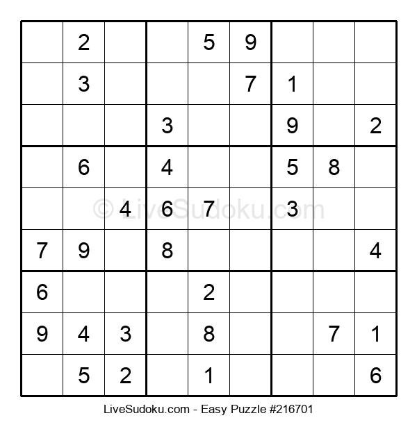 Beginners Puzzle #216701