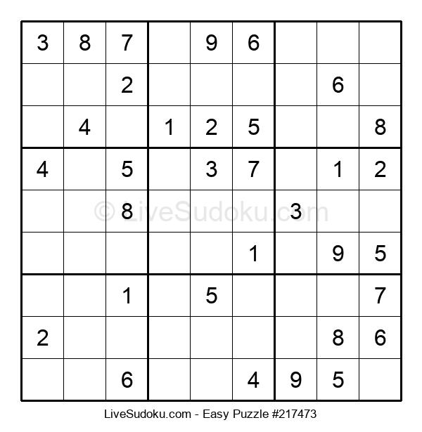 Beginners Puzzle #217473