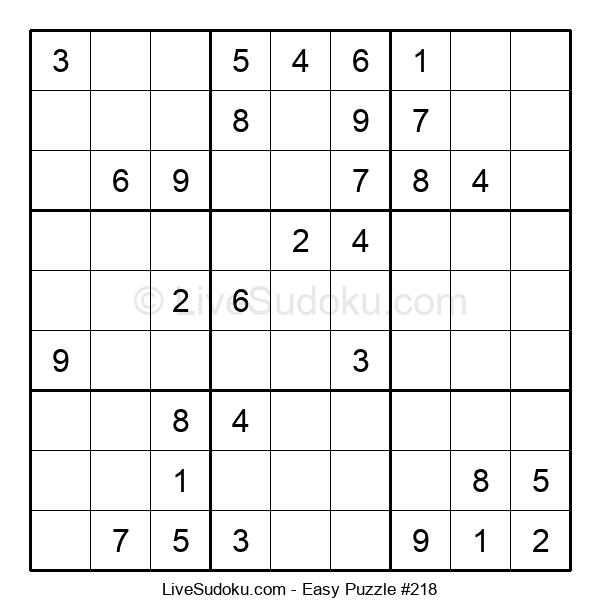 Beginners Puzzle #218