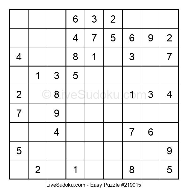 Beginners Puzzle #219015