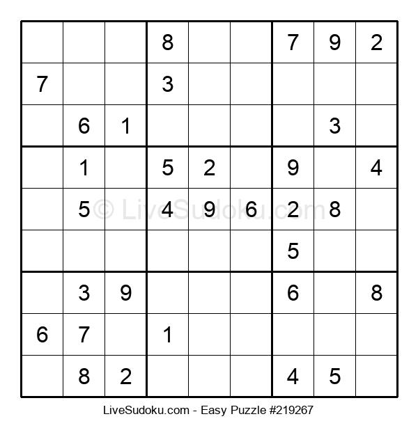 Beginners Puzzle #219267