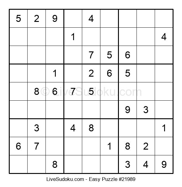 Beginners Puzzle #21989