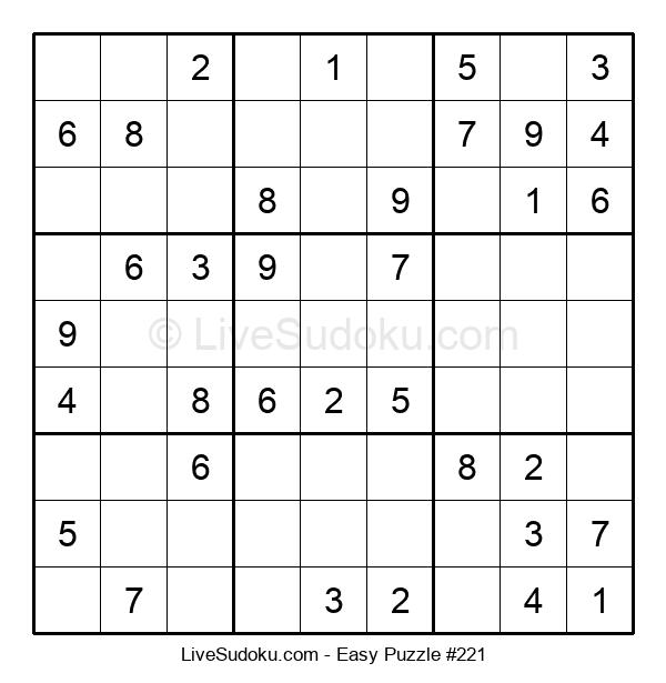 Beginners Puzzle #221
