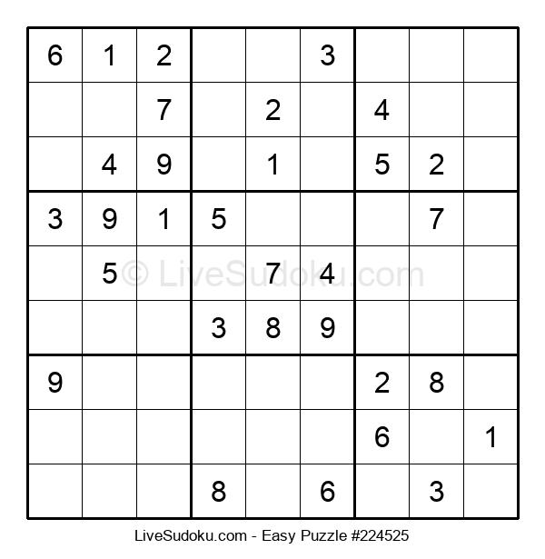 Beginners Puzzle #224525