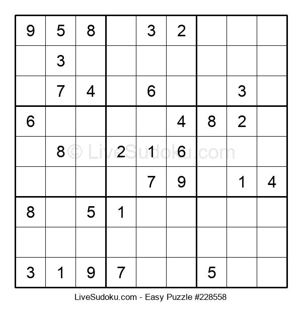 Beginners Puzzle #228558
