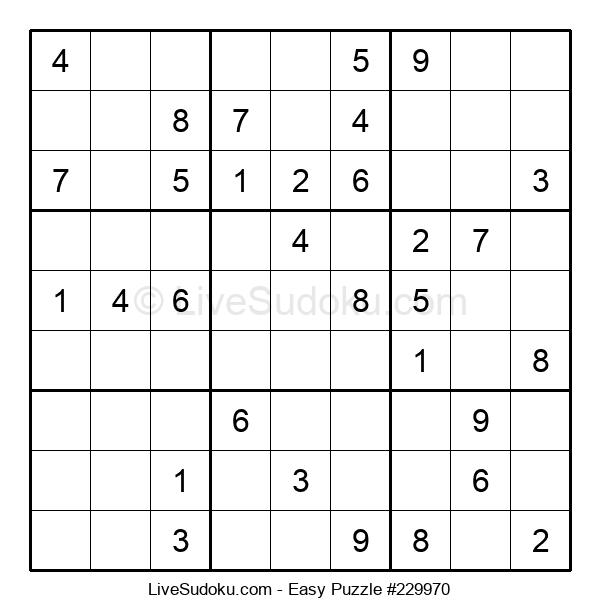 Beginners Puzzle #229970
