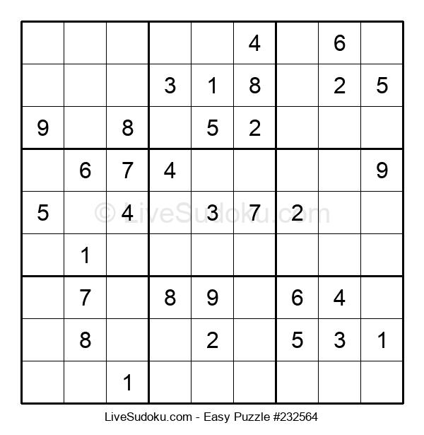 Beginners Puzzle #232564