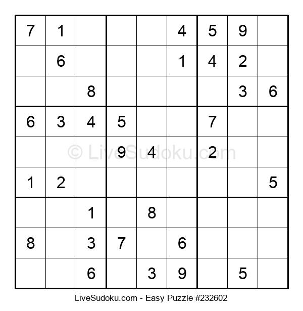Beginners Puzzle #232602