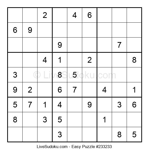 Beginners Puzzle #233233