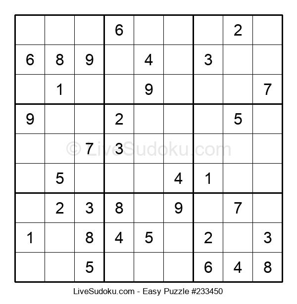 Beginners Puzzle #233450