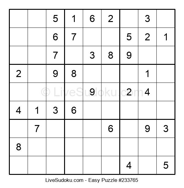 Beginners Puzzle #233765
