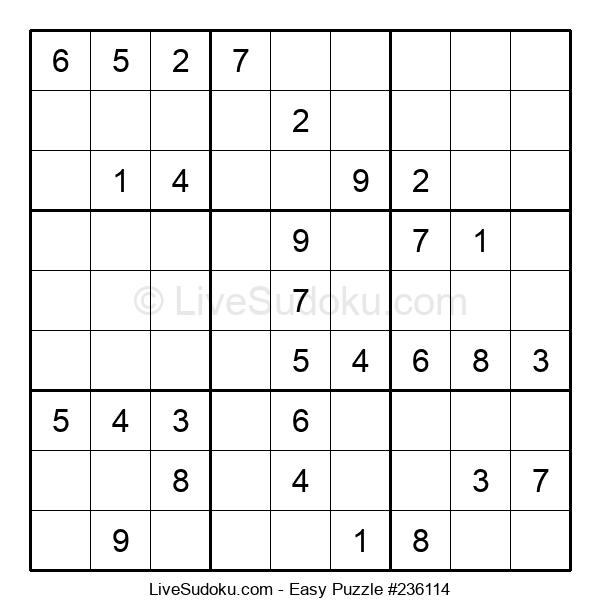 Beginners Puzzle #236114