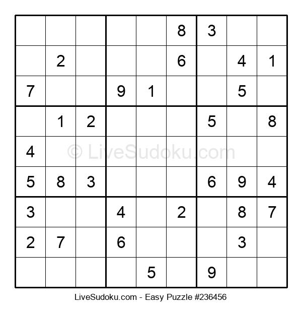 Beginners Puzzle #236456