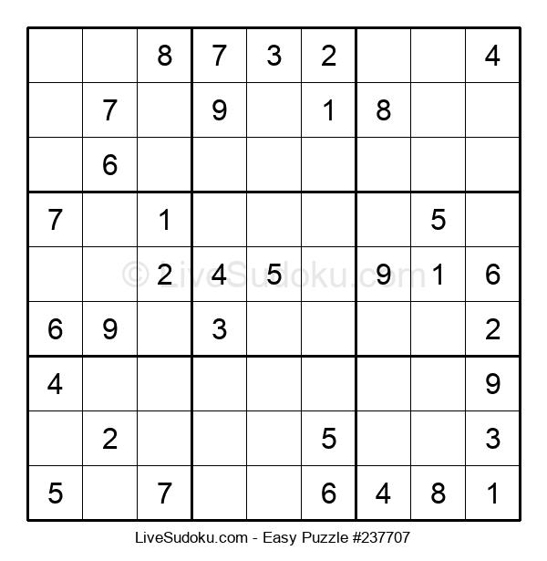 Beginners Puzzle #237707