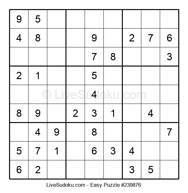 Beginners Puzzle #239876