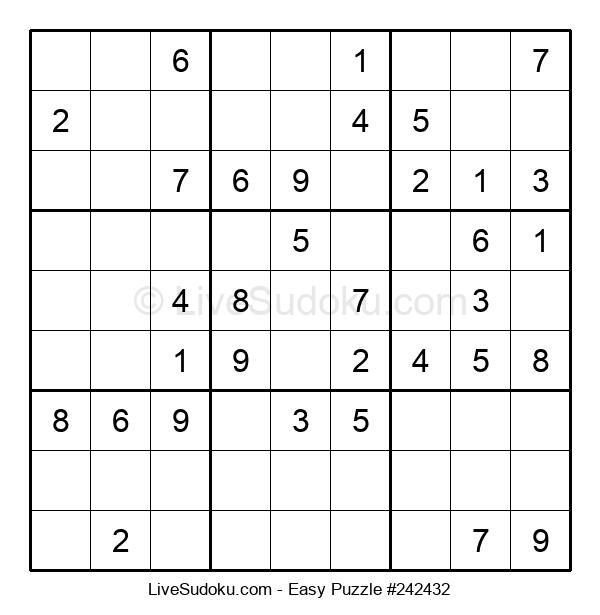 Beginners Puzzle #242432
