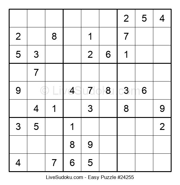 Beginners Puzzle #24255