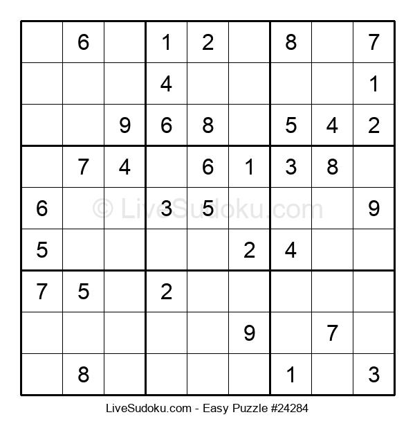 Beginners Puzzle #24284