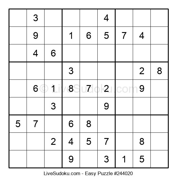 Beginners Puzzle #244020