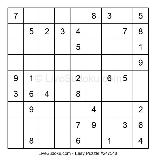 Beginners Puzzle #247548