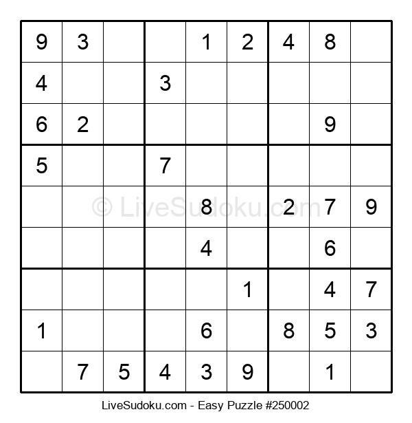 Beginners Puzzle #250002