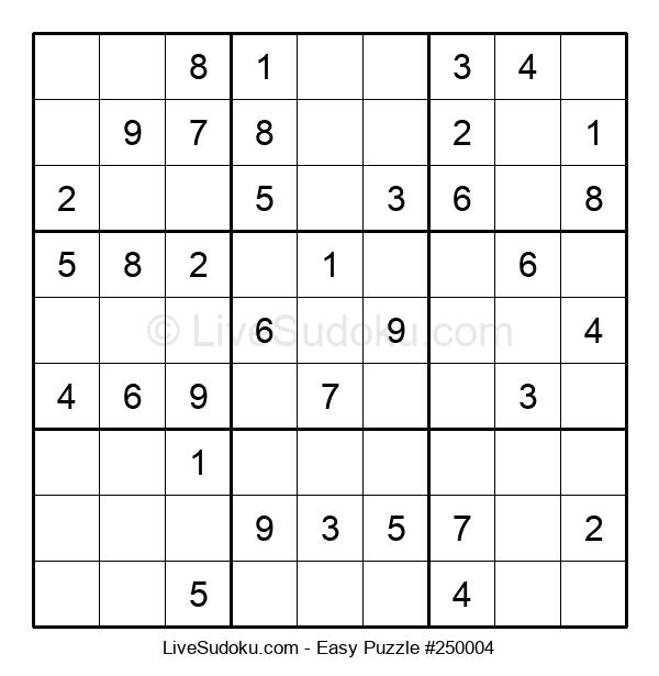 Beginners Puzzle #250004