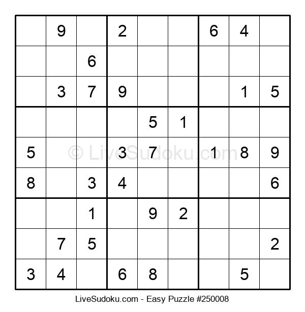Beginners Puzzle #250008