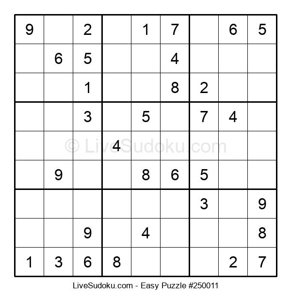 Beginners Puzzle #250011
