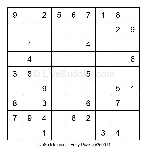 Beginners Puzzle #250014