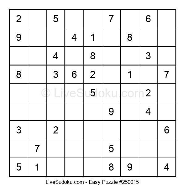 Beginners Puzzle #250015