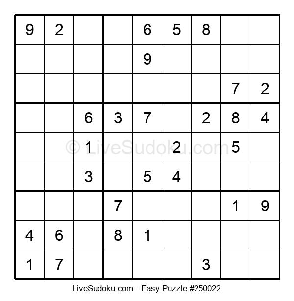 Beginners Puzzle #250022