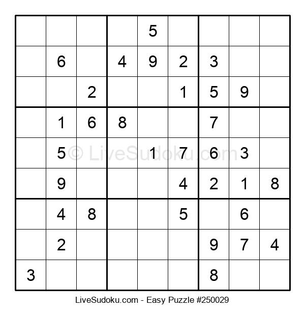 Beginners Puzzle #250029