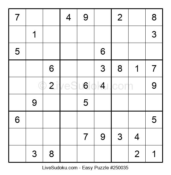 Beginners Puzzle #250035