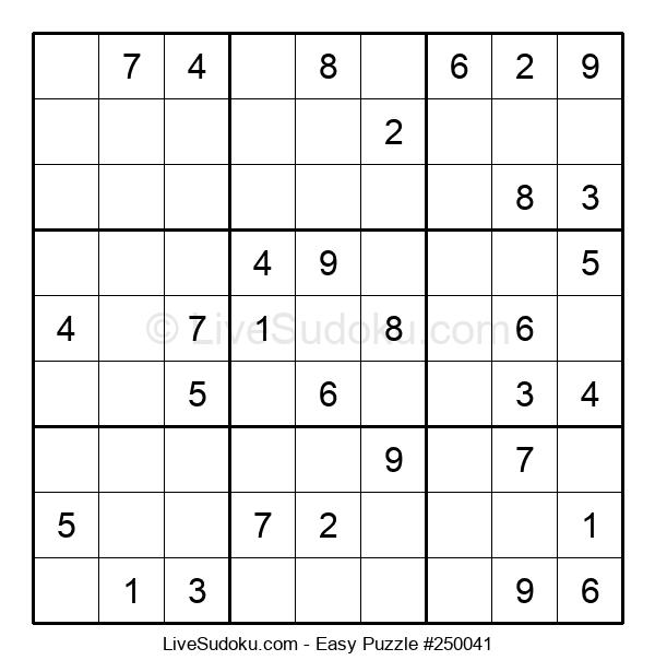 Beginners Puzzle #250041