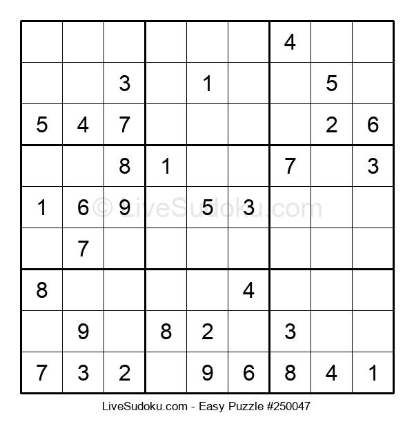 Beginners Puzzle #250047