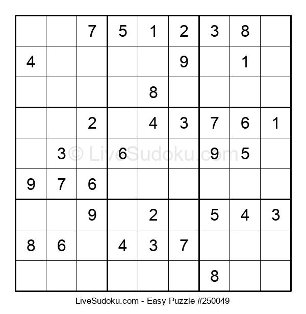 Beginners Puzzle #250049