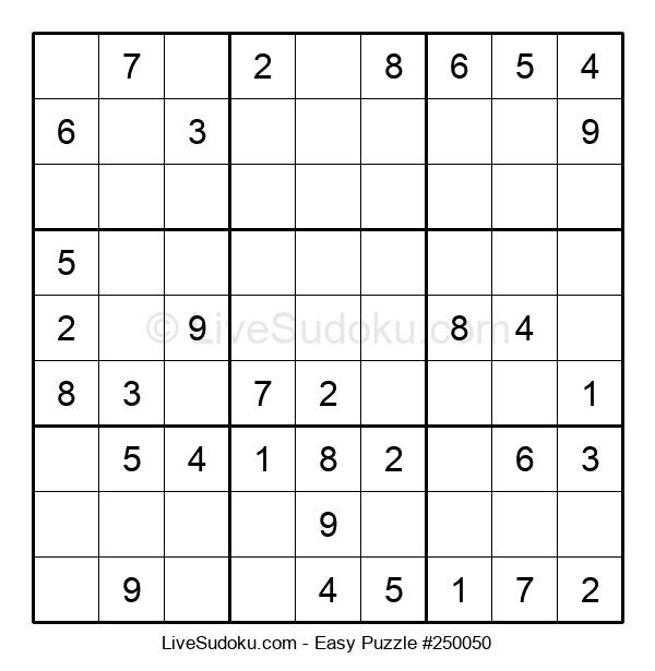 Beginners Puzzle #250050