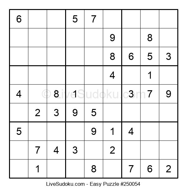 Beginners Puzzle #250054