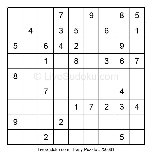Beginners Puzzle #250061