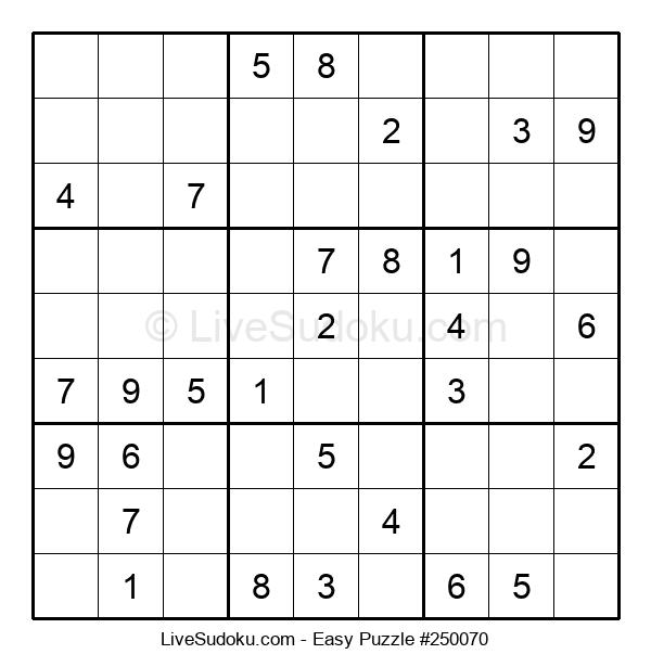 Beginners Puzzle #250070