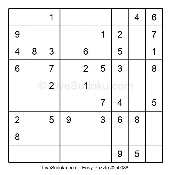 Beginners Puzzle #250088