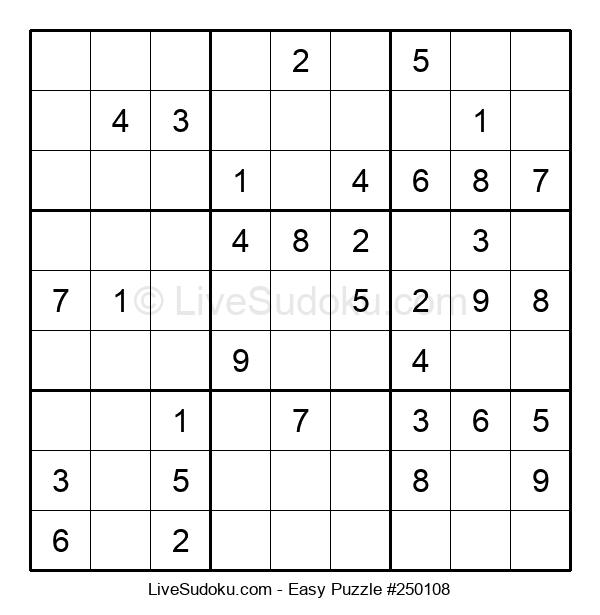 Beginners Puzzle #250108