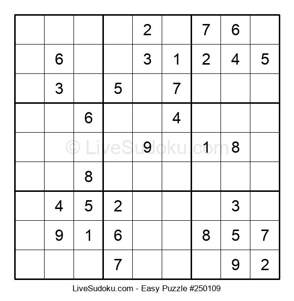 Beginners Puzzle #250109