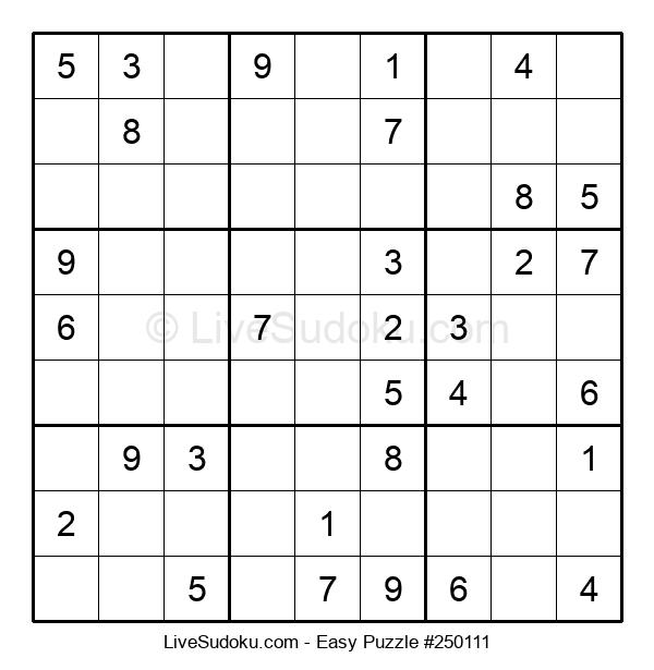 Beginners Puzzle #250111