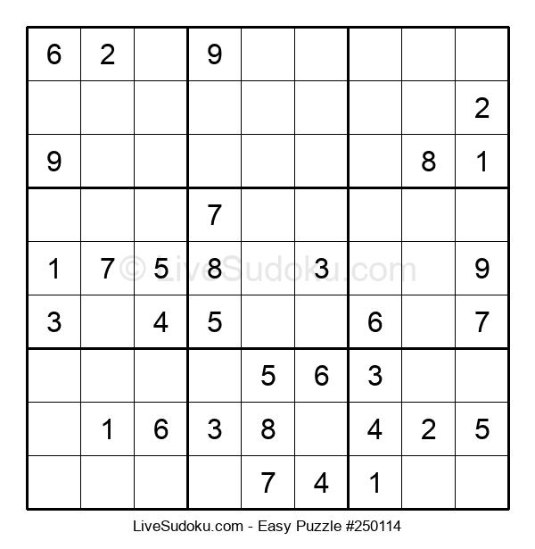 Beginners Puzzle #250114