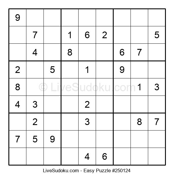 Beginners Puzzle #250124