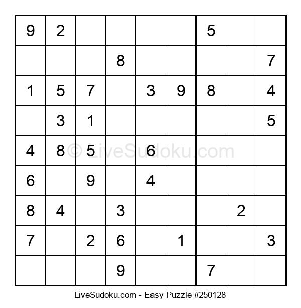 Beginners Puzzle #250128